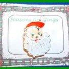 Christmas PIN #0272 VTG Santa Claus Head/Face Enamel HOLIDAY Brooch