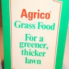 Vintage AGRICO Grass Food Note Pad Agrico ChemCo Fertilizer Advertising VTG