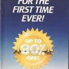 1987 Vintage Antique AVON Campaign 16 Sales Catalog Book Brochure Campaign 16