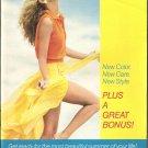 1987 Vintage Antique AVON Campaign 10 Sales Catalog Book Brochure Campaign 10