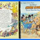 Book Walt Disney's Mickey Mouse Those Were the Days GoldenBK