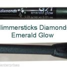 Make Up Glimmersticks Diamonds Eye Liner Retractable ~Color Emerald Glow ~NEW~