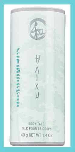 Women's HAIKU Shimmering Body Powder Talc 1.4 oz NEW (Quantity of TWO)