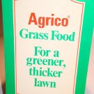 VTG AGRICO Chemical Company Grass Food Note Pad Agrico Fertilizer Advertising Co