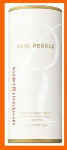 Women's Shimmering RARE PEARLS Body Powder Talc 1.4 NEW (Quantity of TWO)