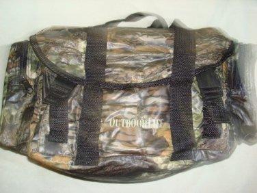 "Hunting Outdoor Life Camouflage Lightweight Duffle Bag ""Waterproof Vinyl"" ~NEW~"
