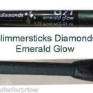 Make Up Glimmersticks Eye Liner Retractable Diamonds ~Color Emerald Glow ~NEW~