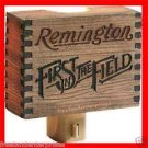 Hunting Remington Rustic Signs Reproduction Nightlight ~Unique Looking~New Boxed
