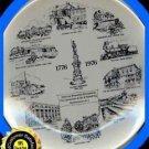 Plate NJ Hackettstown 1776-1976 Bi-Centennial Collectble Excellent Condition