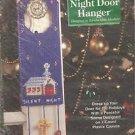 CRAFTS Needlecraft Shop Christmas Trimmings Silent Night Door Hanger Kit #410026