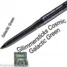 Make Up Glimmerstick Eye Liner Retractable Cosmic ~Color Galactic Green ~NEW~