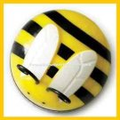 Kitchen Timer Spring Bumble Bee Design 60 Minute Timer (Yellow-Black-White-Qnt 1