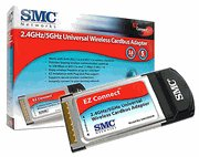 SMC 802.11 A & B Dual Frequency Wireless LAN Card