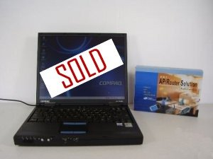 Compaq Evo N600c PIII M 1.06 GHz DVDRom + Free Wireless Card