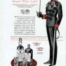 1941 Dewars Scotch Print Ad-Kings Royal Rifle Corps Uniform