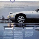1980 Porsche 928 Vintage Car Print Ad-2 pages color