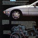 1981 Porsche 924 Turbo Vintage Sports Car Print Ad