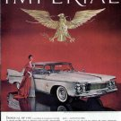 1961 Chrysler Imperial Crown Southampton Vintage Car Print Ad