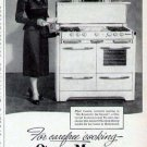 1952 O'Keefee & Merritt Cook Stove Range Print Ad-Piper Laurie