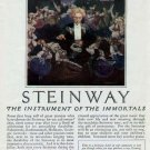 1925 Steinway Piano Print Ad-Percy Grainger Plays