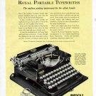 1928 Royal Portable Typewriter Print Ad-Sixty Dollars Will Buy