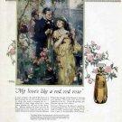 1924 Colgates Perfume Vintage Color Print Ad-Florient