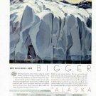 1935 See Alaska Year Vintage Print Ad-Glaciers Are Bigger