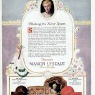 1924 Bourjois Manon Lescaut Face Powder Print Ad-Cosmetics