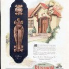 1920's Russwin Hardware Print Ad-Craftsman Door Handle