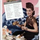 1943 Royal Crown Cola Vintage Print Ad-Dorothy Lamour