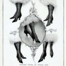 1906 Lord & Taylor Onyx Hosiery Stockings Antique Print Ad-Patterns