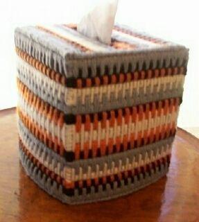 Native American Tissue Box Cover /w tissue