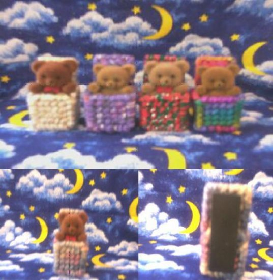 Cute Little Bears in a Box Magnets