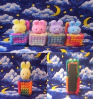 Cute Little Bunnies in a Box Magnets