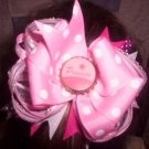 Princess Boutique Hairbow with Bottle cap