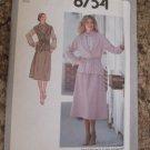Vintage Simplicity Pattern 8754 1978 size 12