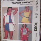 Vintage McCalls pattern 7083 size Medium From 1980