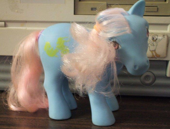 RP - My Little Pony Happy Tails Squeezer - 1987