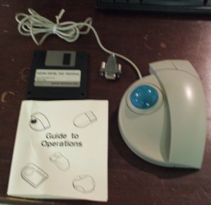 PS2 / Serial Stretch-Ball Adjustable Trackball - STK4000