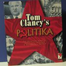 Tom Clancy's Politika Modern Russian Political Intrigue / Uprising Board Game - Red Storm