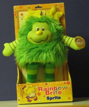 "Rainbow Brite Sprite Lucky - New - MIB - 2003 - Large 10"" - Hallmark / Toy Play"