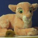 "Lion King Nala Lioness Cub Plush - 14"" - Disneyland / Disneyworld Exclusive - Extra Soft"