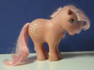 My Little Pony Cotton Candy - 1982 Vintage - CC - Concave Hoof