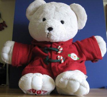 2007 Dan Dee Christmas Holiday 21 Inch Plush Teddy Bear