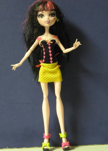 Monster High Draculaura Doll 2008 Mattel