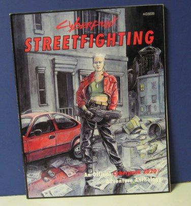 Cyberpunk AG5020 Street Fighting Adventure Anthology Book Atlas Games 1993 RPG