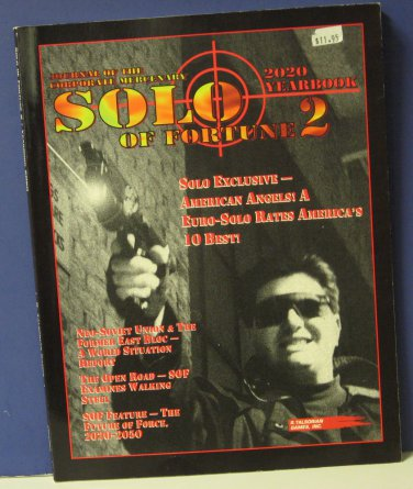 Cyberpunk CP3361 Solo of Fortune 2 Supplement Book Talsorian Games 1994 RPG