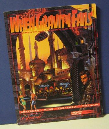 Cyberpunk CP3601 When Gravity Fails Supplement Book Talsorian Games 1992 RPG