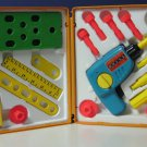 Fisher Price Tool Kit With Wind Up Drill 924 1977 Vintage