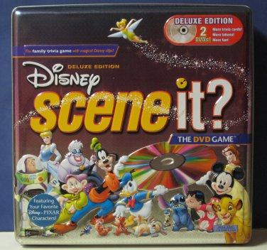 Scene It Disney Deluxe 2 DVD Edition Excellent Condition Trivia Game 2005